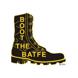 Boot The BATFE Lapel Pin