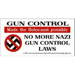 Nazi Gun Control Sticker