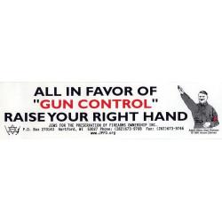 'All in Favor of Gun...