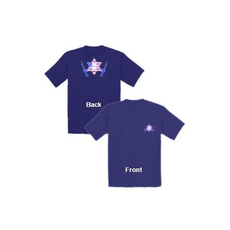 JPFO T-Shirt Bright Blue